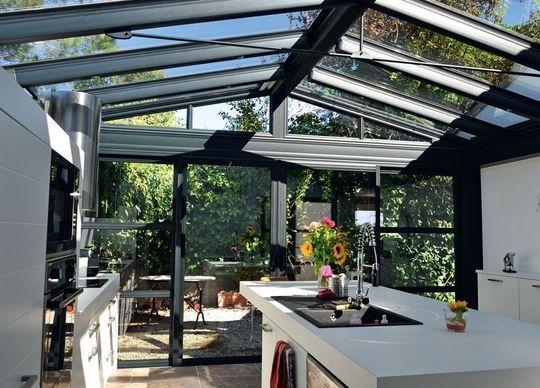 Faire Une Veranda Pour Installer Ma Cuisine Ou Mon Salon Cuisine Veranda Extensions Veranda Cuisine Veranda Bioclimatique