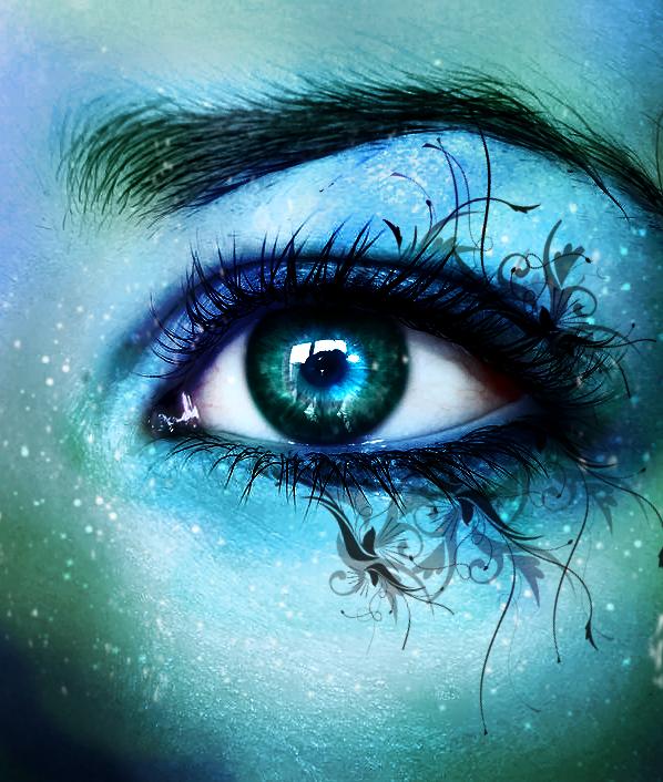 Cerulean Sight By Inwe1 On Deviantart Eye Art Butterfly Eyes Eyes Artwork