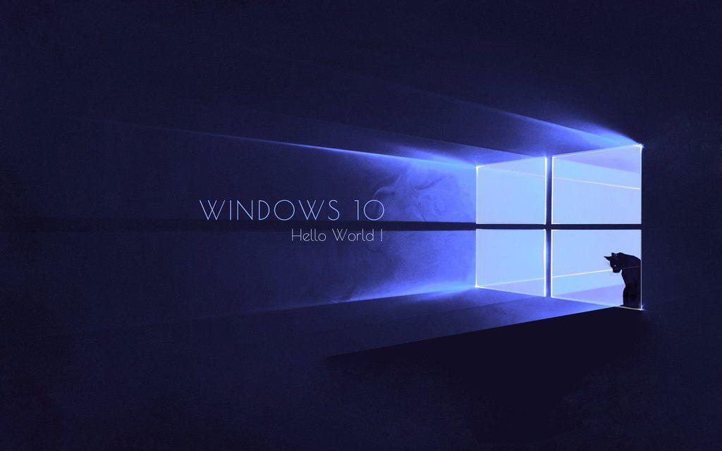 Best microsoft windows 10 wallpaper cat akshay for Microsoft win 10