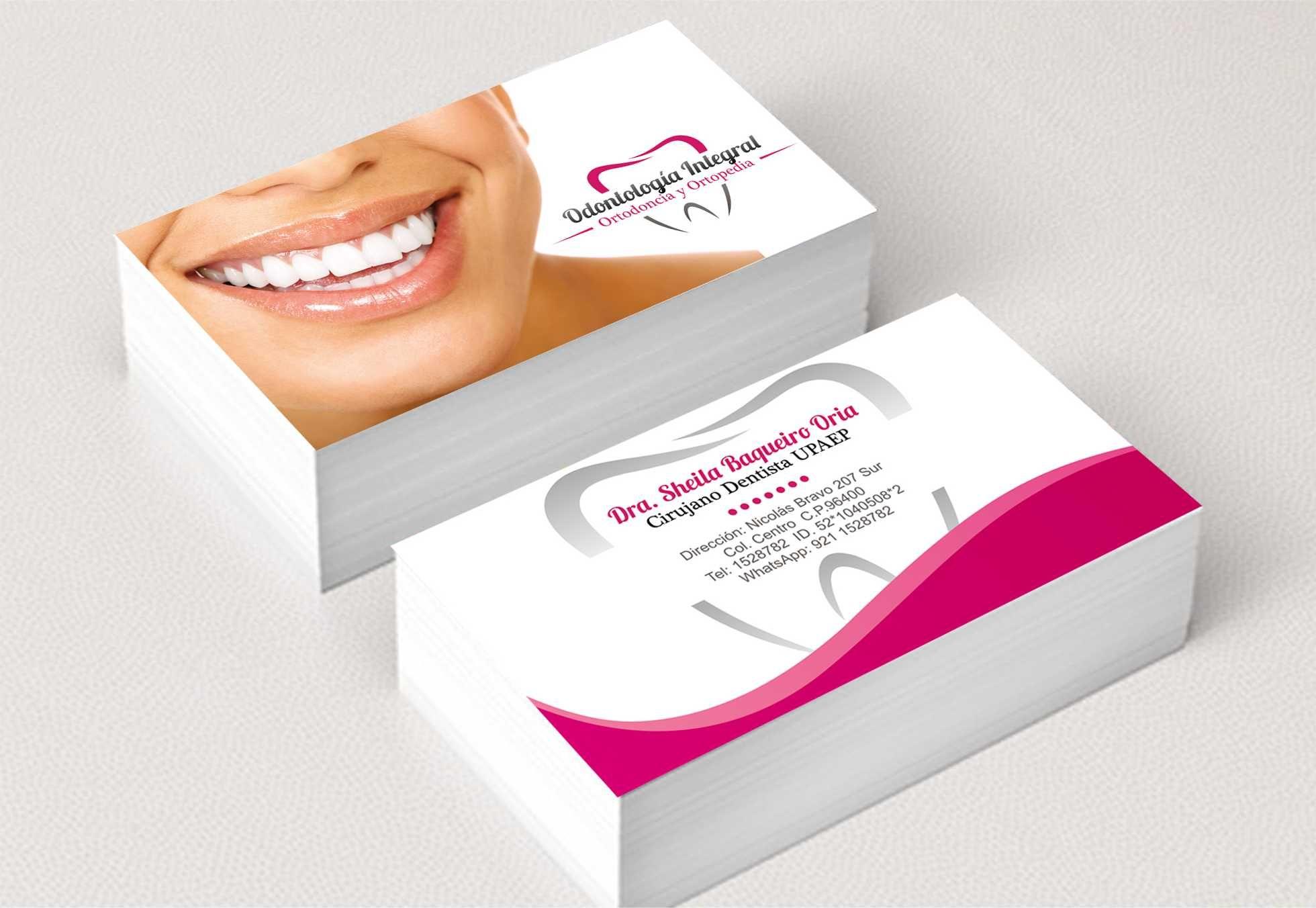 Mobili odontoiatrici ~ Tarjeta de presentación dental dental pinterest dental
