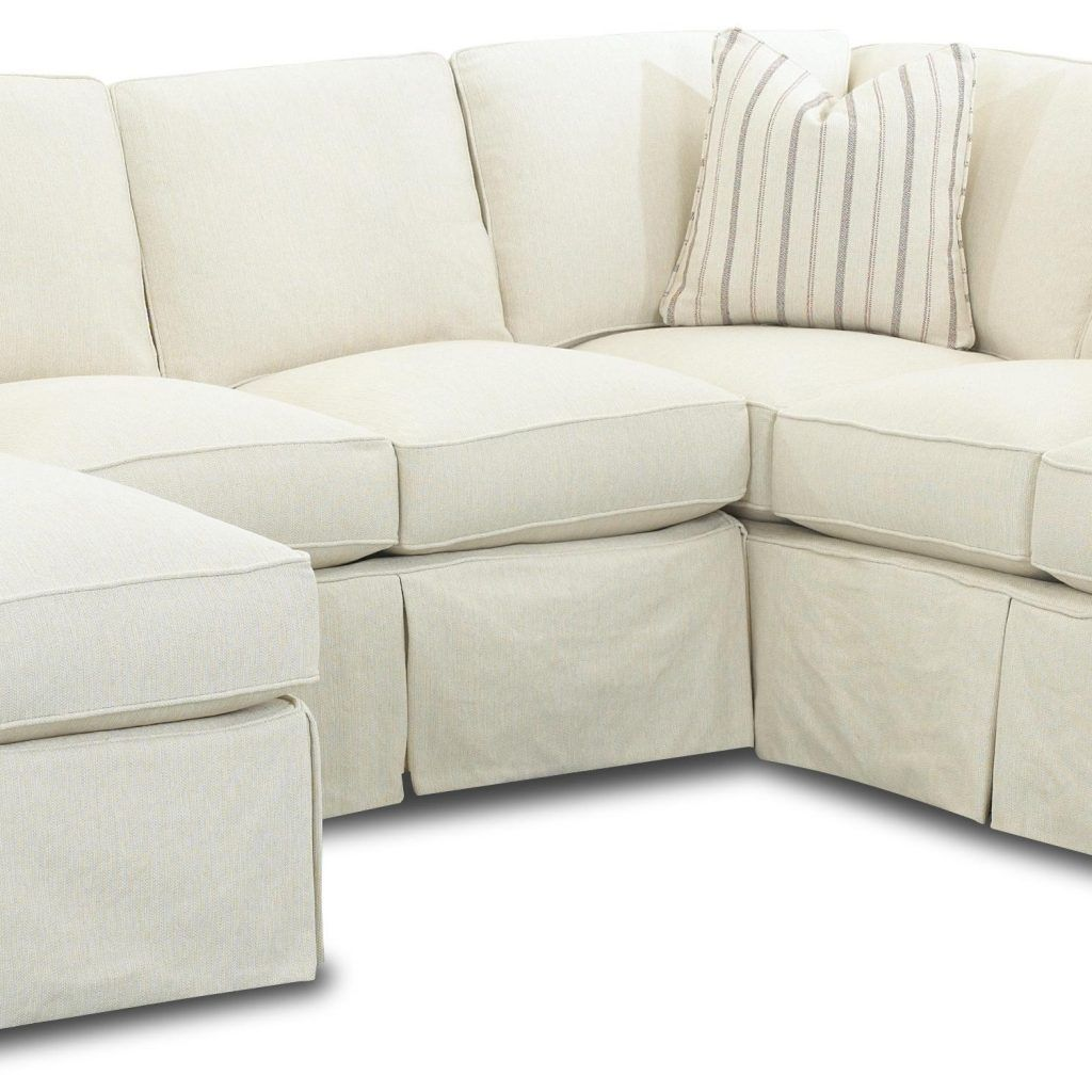 Slipcover Sofa Sectional With Chaise