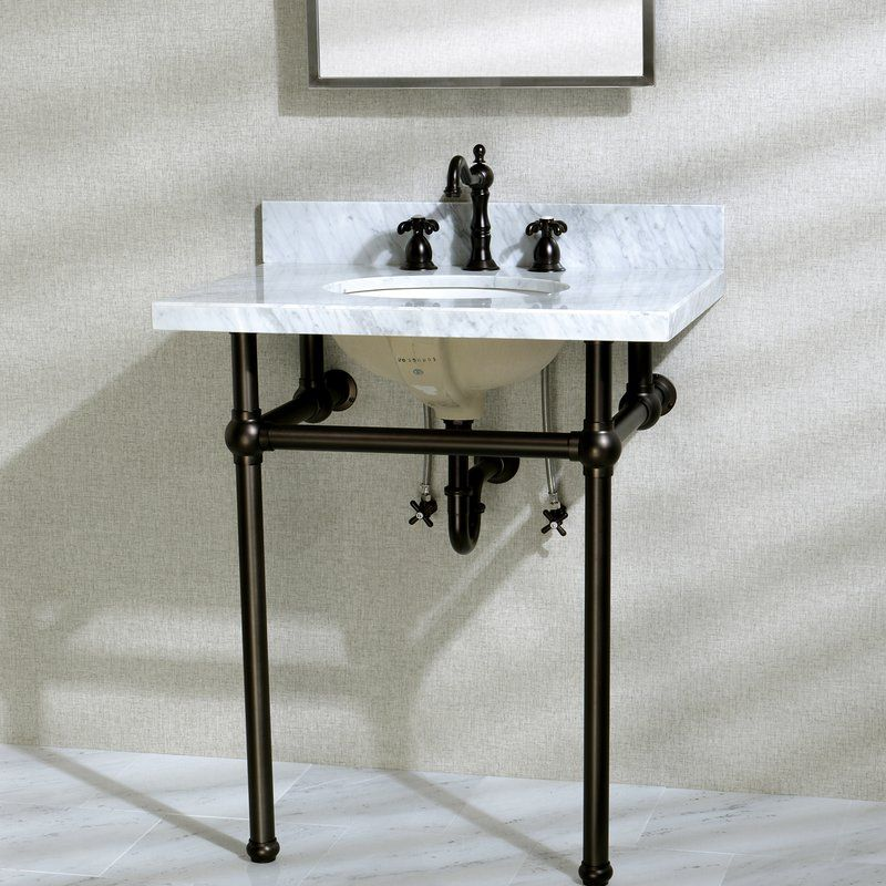Templeton 30 Console Bathroom Sink With Overflow Console Sink