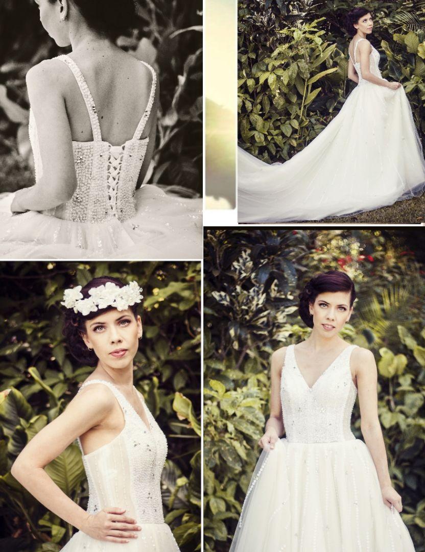 Royal themed wedding dresses  bluweddingboutique Modern vintage glamour wedding gowns