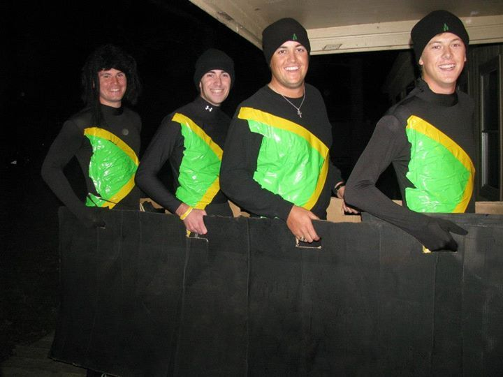 Jamaican Bobsled Team Group Costumes Come On Y All Its Bobsled Time Team Costumes Group Costumes Bobsled Team