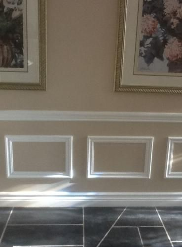 House Of Fara 3 4 In X 2 1 8 In X 8 Ft Mdf Panel Moulding 8207