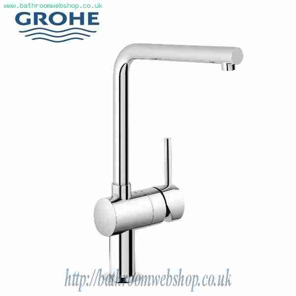 GROHE Kitchen Taps GROHE Minta Single Lever Kitchen Sink Mixer 31 375 000  GROHE