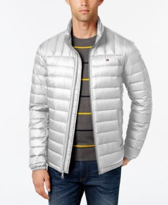TOMMY HILFIGER Tommy Hilfiger Nylon Packable Jacket. #tommyhilfiger #cloth # coats