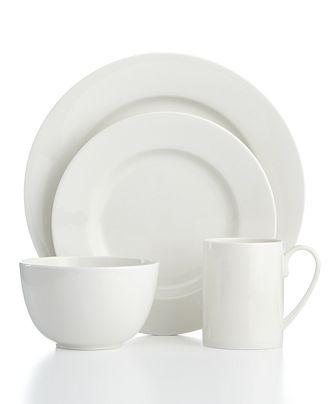 Martha Stewart Collection Dinnerware Kensington Whiteware
