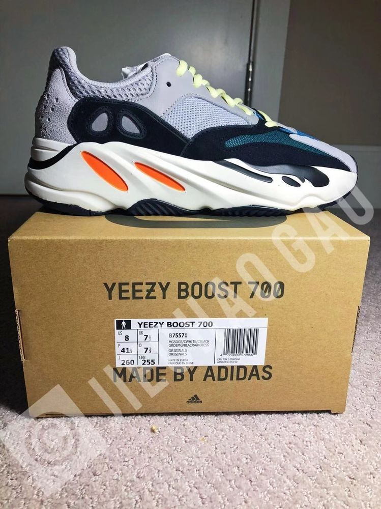 1823e9466a311 Adidas Yeezy Wave Runner 700 Solid Grey  OG  Mens 8 100% Authentic  fashion   clothing  shoes  accessories  mensshoes  athleticshoes (ebay link)