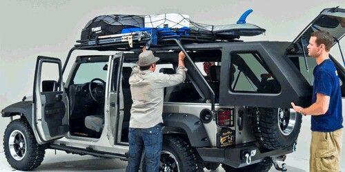 Slant Back Hardtop With Roof Rack Jeep Gear Jeep Wrangler Jeep Suv