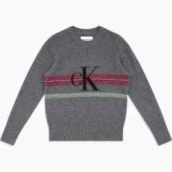 Calvin Klein Melange Wollpullover mit Logo Xxl Calvin KleinCalvin Klein   – Products