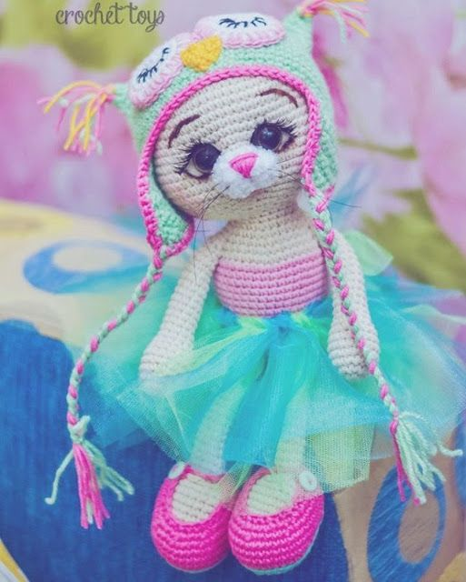 Amigurumi Dress Cats-Free Pattern (Amigurumi Free Patterns ...