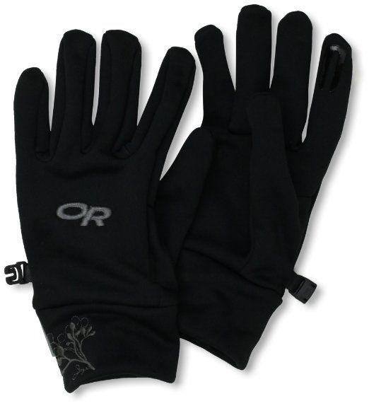 8941354557c7c Amazon.com: Outdoor Research Women's PL 100 Gloves, Black, Small ...