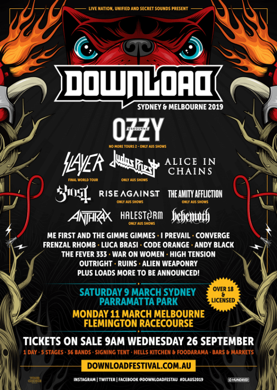 Download Festival 2019 Brasis The Fevers