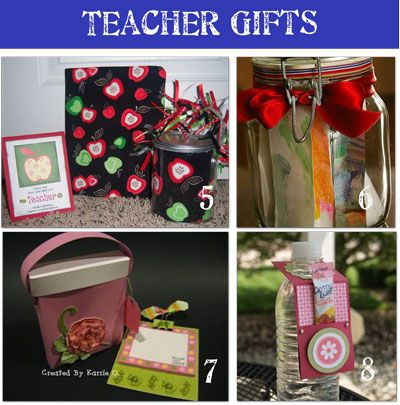 Teacher Appreciation. I especially like the water bottle with ...