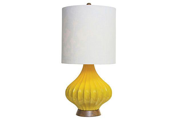 fairfax table lamp sunshine on onekingslane com inverness home