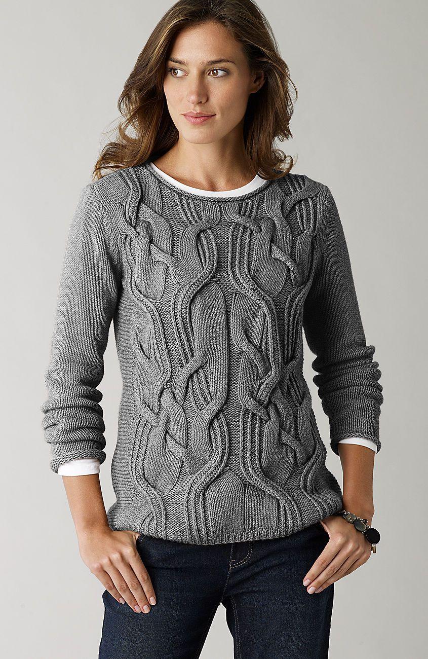 Creative cables   Moda   Pinterest   Tejido, Dos agujas y Suéteres