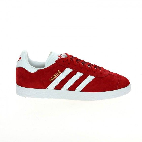 2f67ea949be8 Baskets femme rouge ADIDAS GAZELLE - Bessec-chaussures.com