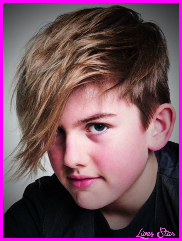 Awesome Long Haircuts For Kids Boys Lives Star Pinterest Long