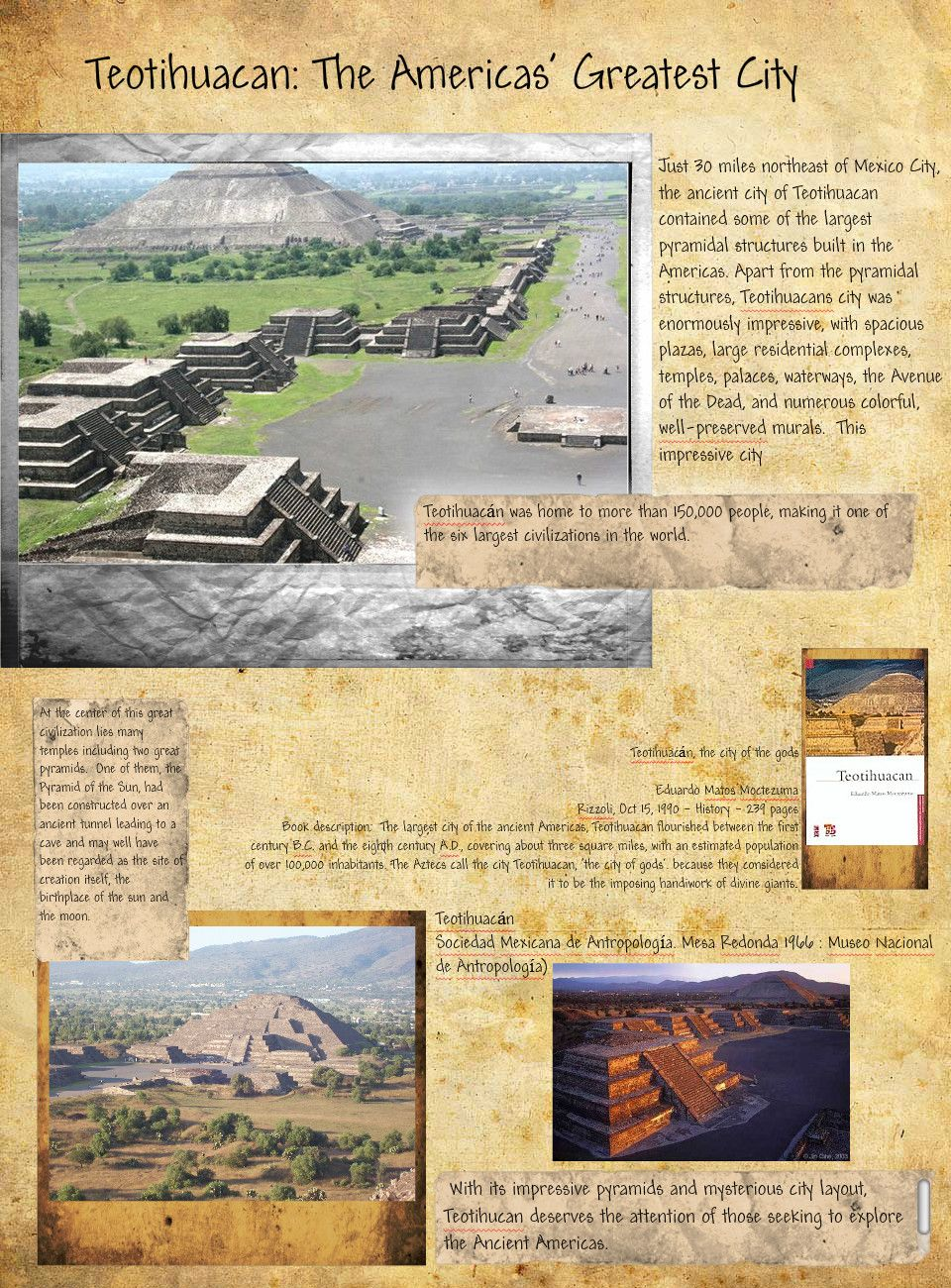 History Poster: Teotihuacan | Publish with Glogster! | where I'm ...