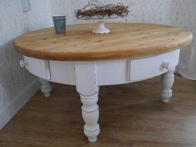 Lawa Drewniana Prowansalska Okragla Shabby Chic 6533364830 Oficjalne Archiwum Allegro Decor Home Decor Home