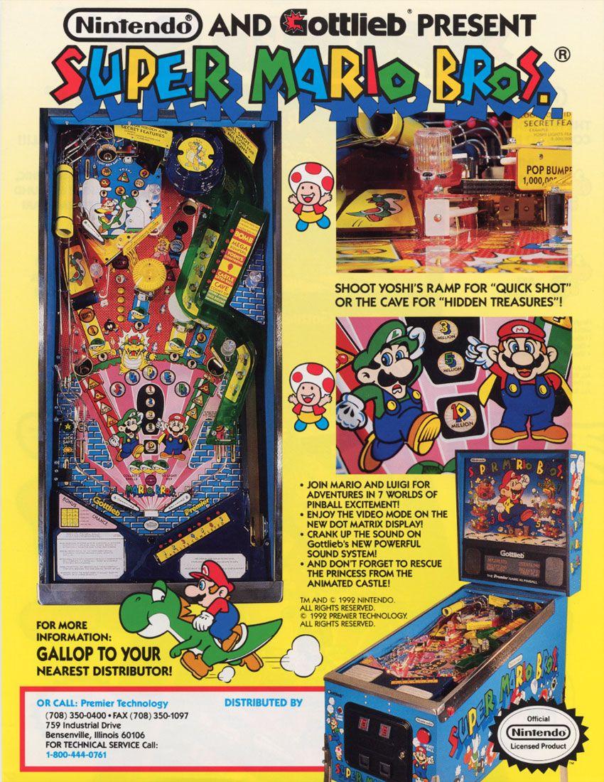 Super Mario Bros Review Arcade Game Classic - YouTube