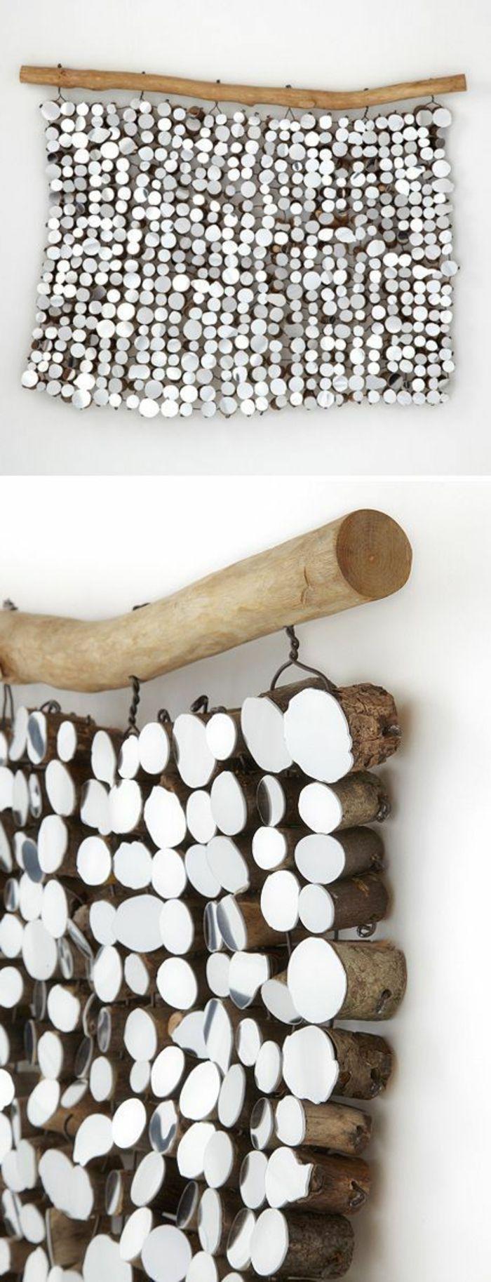 50 id es pour la d co bois flott d coration murale bois for Activite manuelle bois flotte