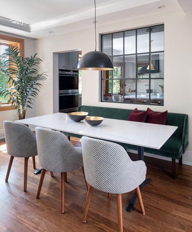 20+ raisons d'installer une banquette dans votre cuisine