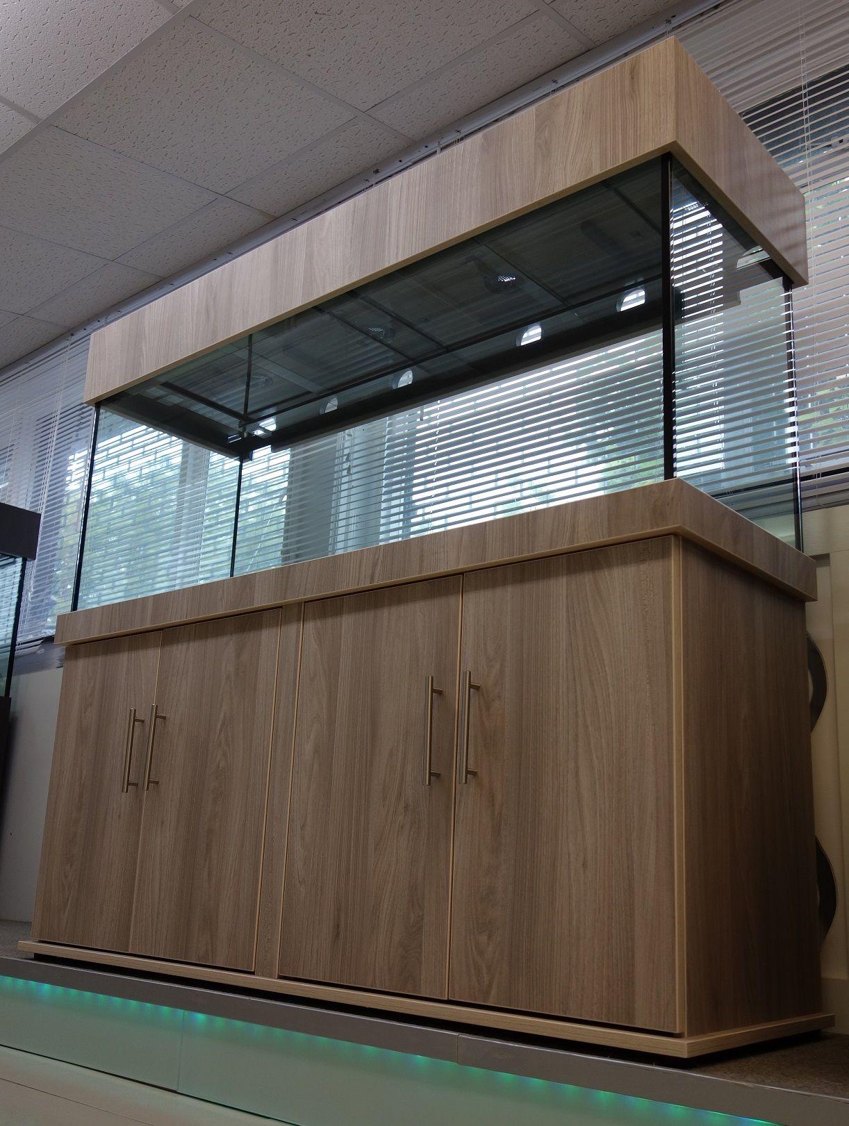 Aquarium fish tank manufacturers - Tropical Aquarium 60x24x18 Classic Cabinet Design In Natural Touch Finish From Custom Fish Tank Manufacturer Prime
