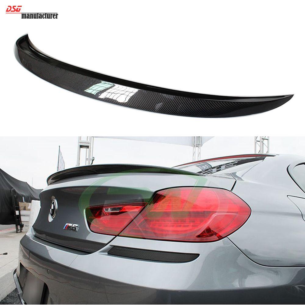F12 vorsteiner style carbon fiber rear trunk spoiler wing for bmw 6 series 2 door coupe 640i 650d 640d bmw spoiler pinterest car painting