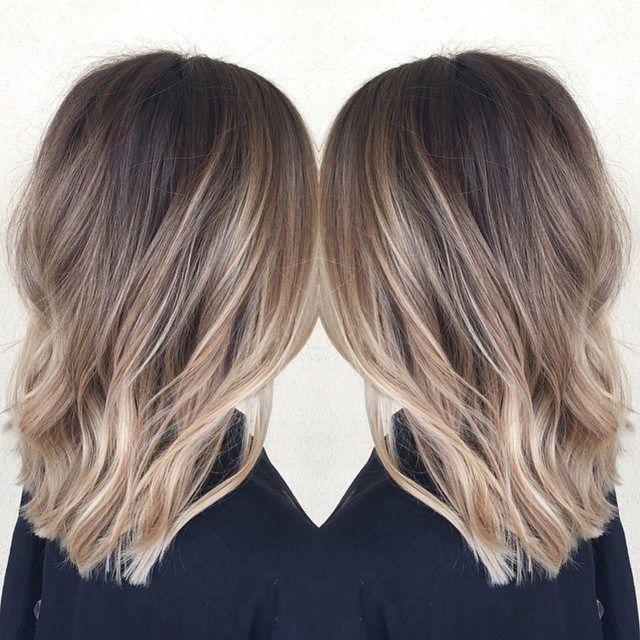 60 Fun And Flattering Medium Hairstyles For Women Balayage Hair Hair Styles Hair Lengths In 2020 Medium Hair Styles Ombre Hair Color Hair Color Balayage