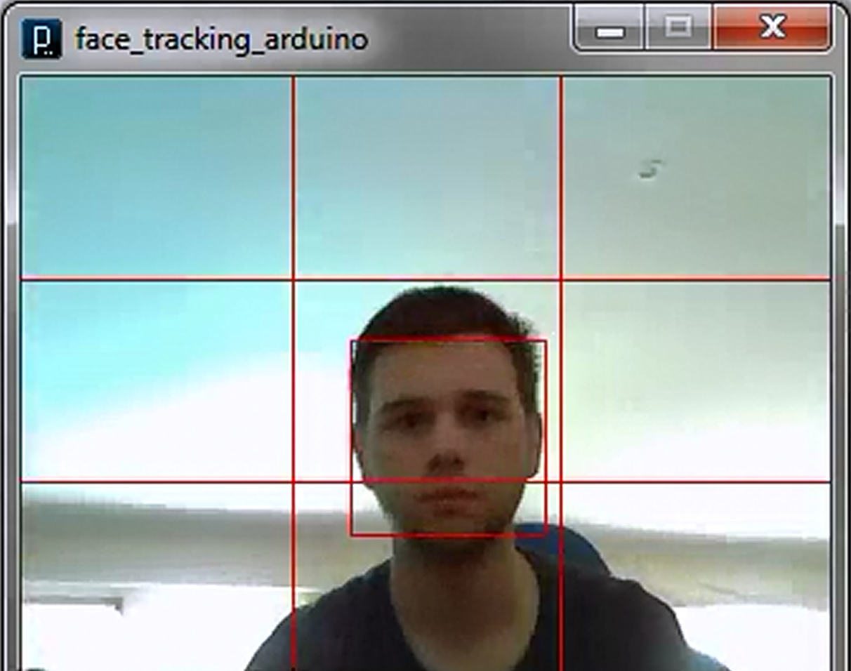 Face tracking with Arduino, Processing and OpenCV | Let's Make