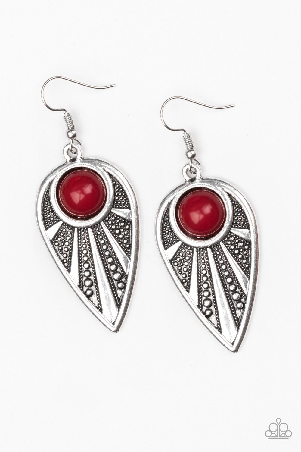 Take A Walk About Red Earrings 5 Lead And Nickel Free