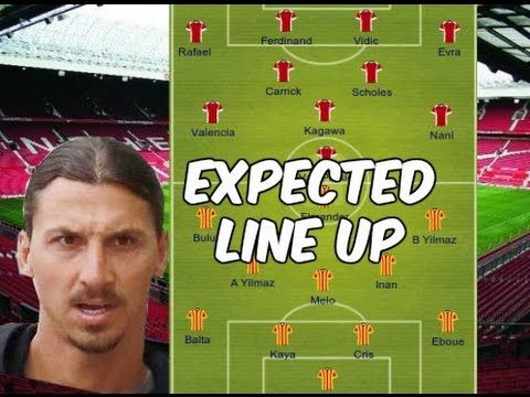 How Man United Could Line Up Against Galatasaray In Saturday S Pre Seaso With Images Bbc Sport Football Football Latest Man United