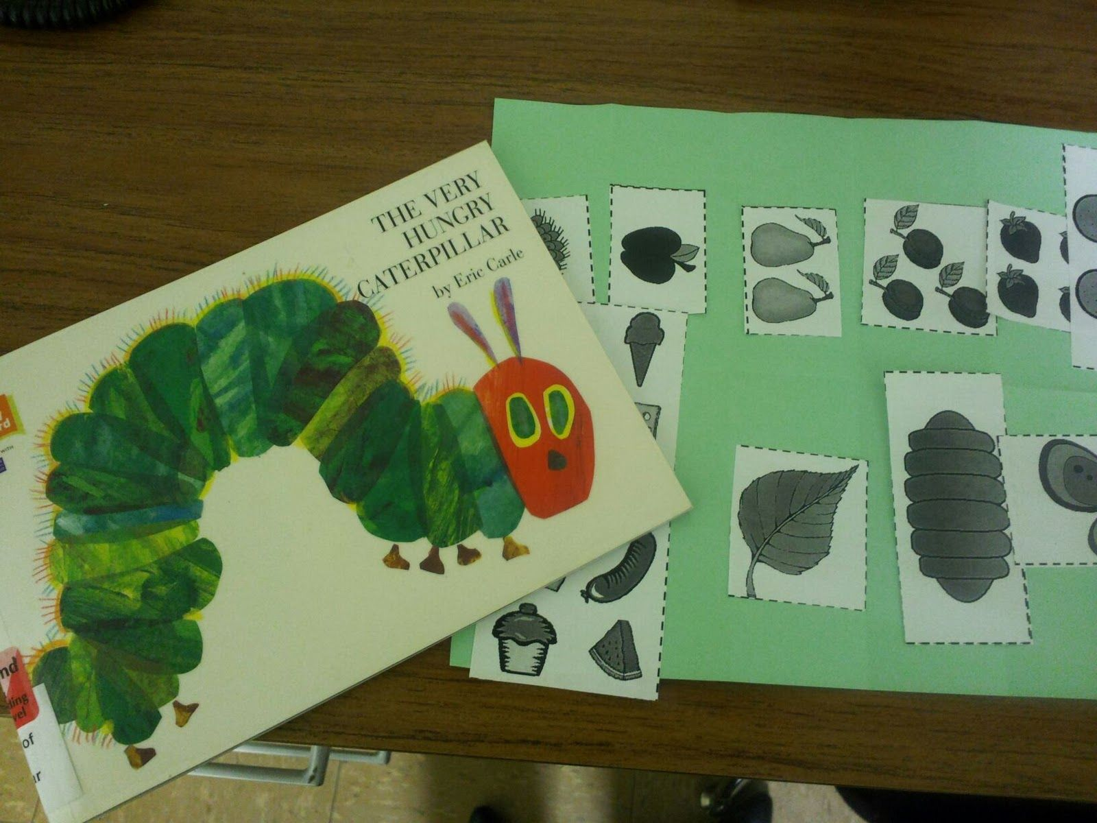 Hungry Caterpillar Sequencing Activity