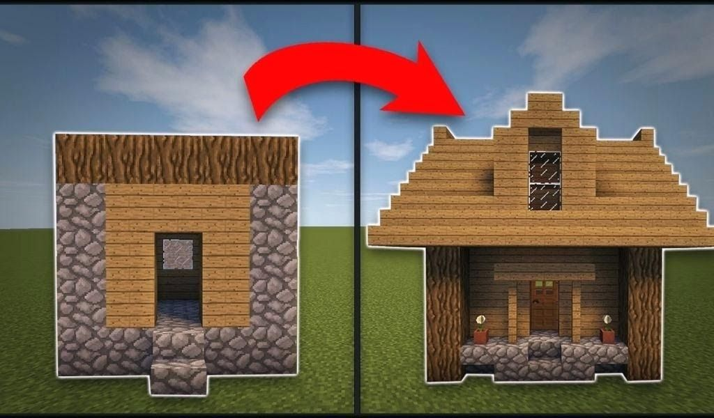 Minecraft Small House Blueprints Careerm Net Students Turn Parking Garage Into Tiny Ho In 2020 Minecraft Small House Minecraft House Designs Minecraft House Tutorials
