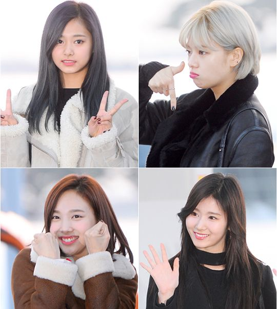 트와이스 - 임나연 /  유정연 / 사나 / 저우쯔위