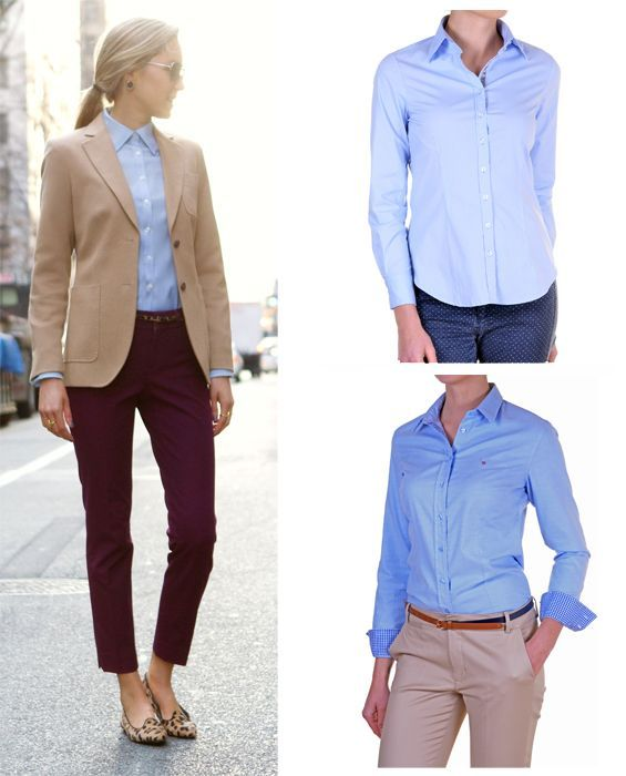 090c54cd2af Image result for light blue shirt women outfit