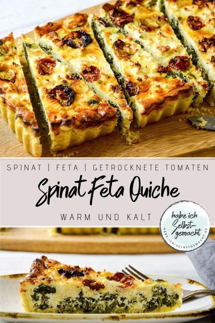 Spinat Feta Quiche Spinat Feta Quiche -