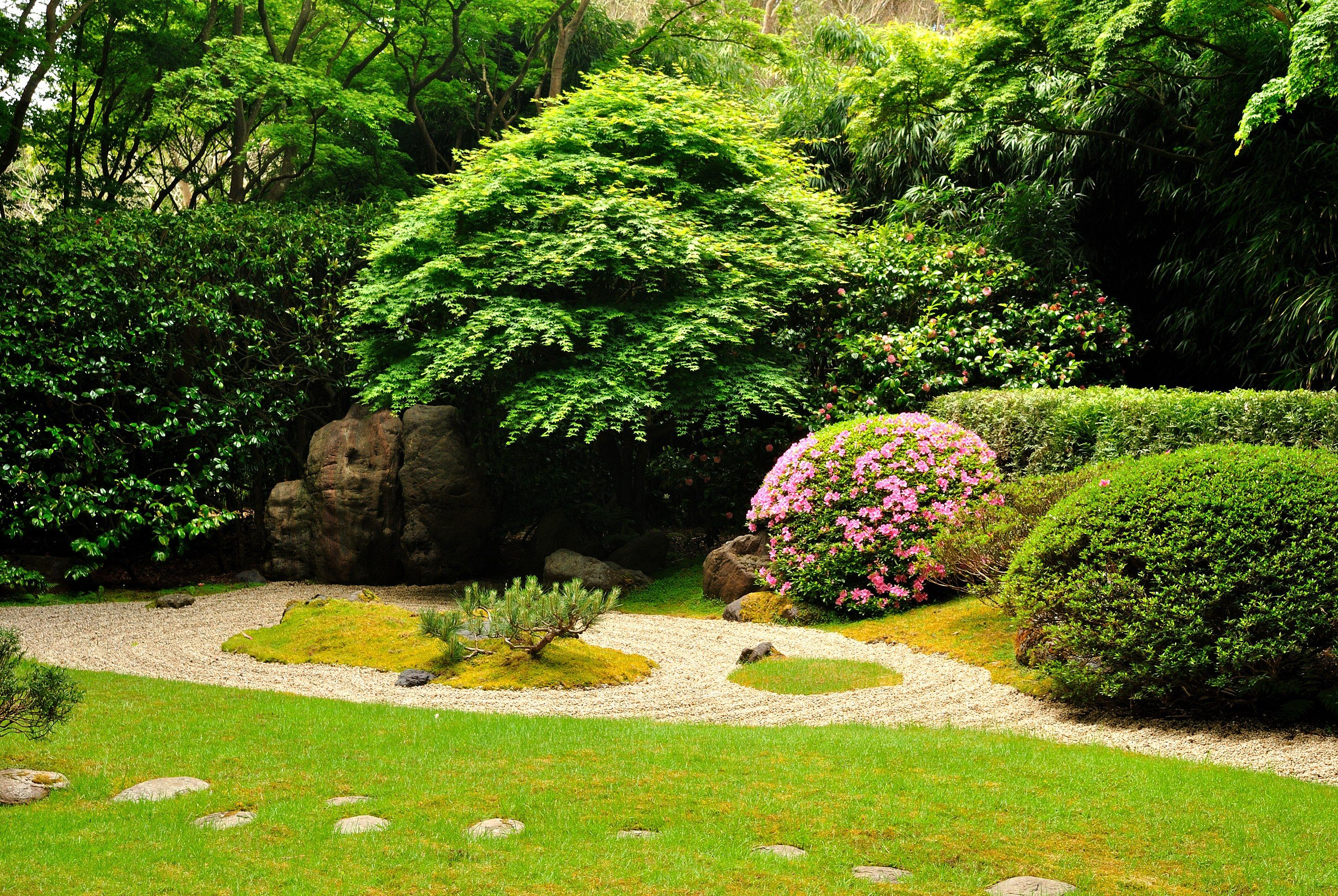 Japanese Rock Garden Wikipedia Japanese Rock Garden Japanese Garden Landscape Japanese Garden Backyard
