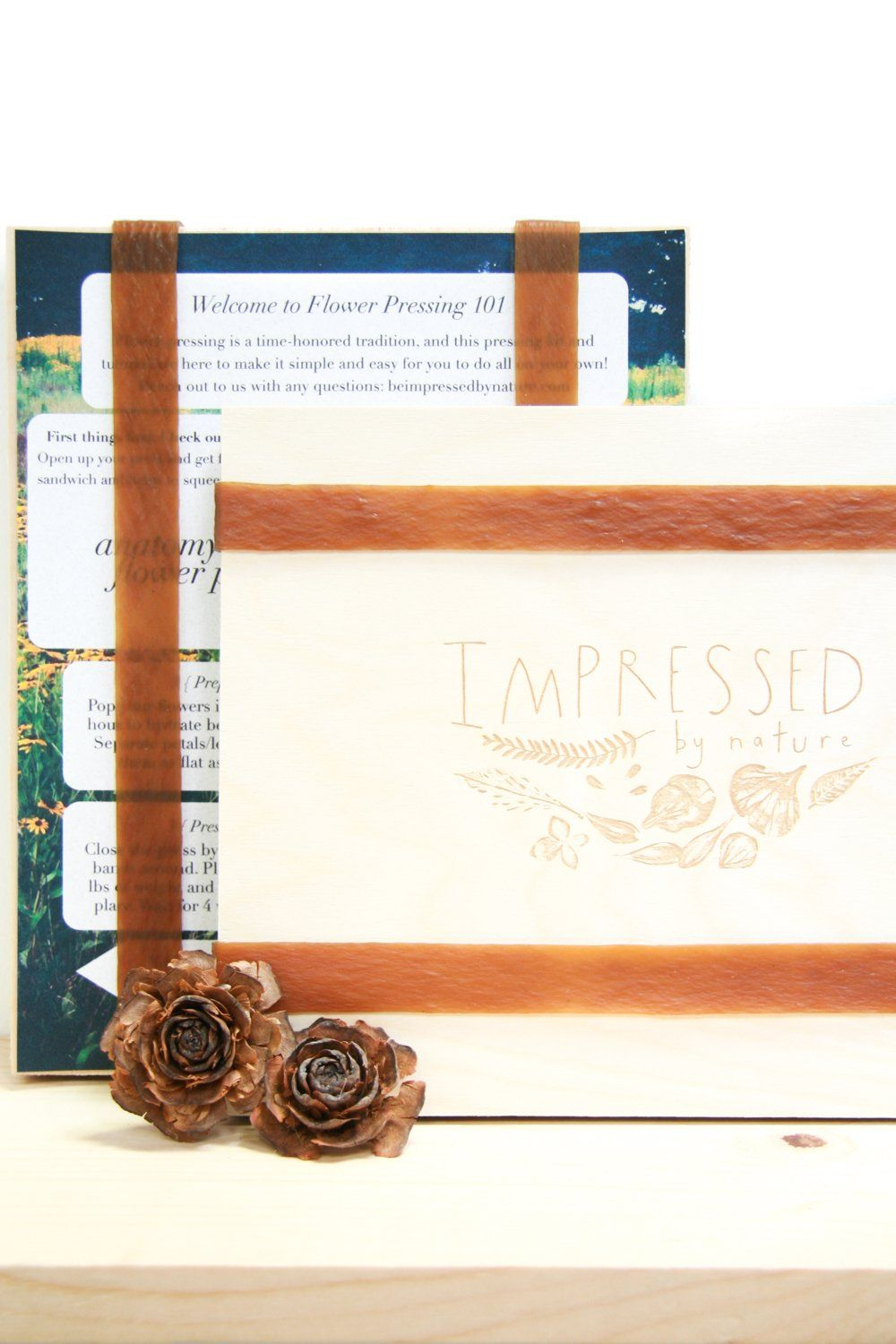 Large Diy Flower Pressing Kit Products Wooden Flowers Diy