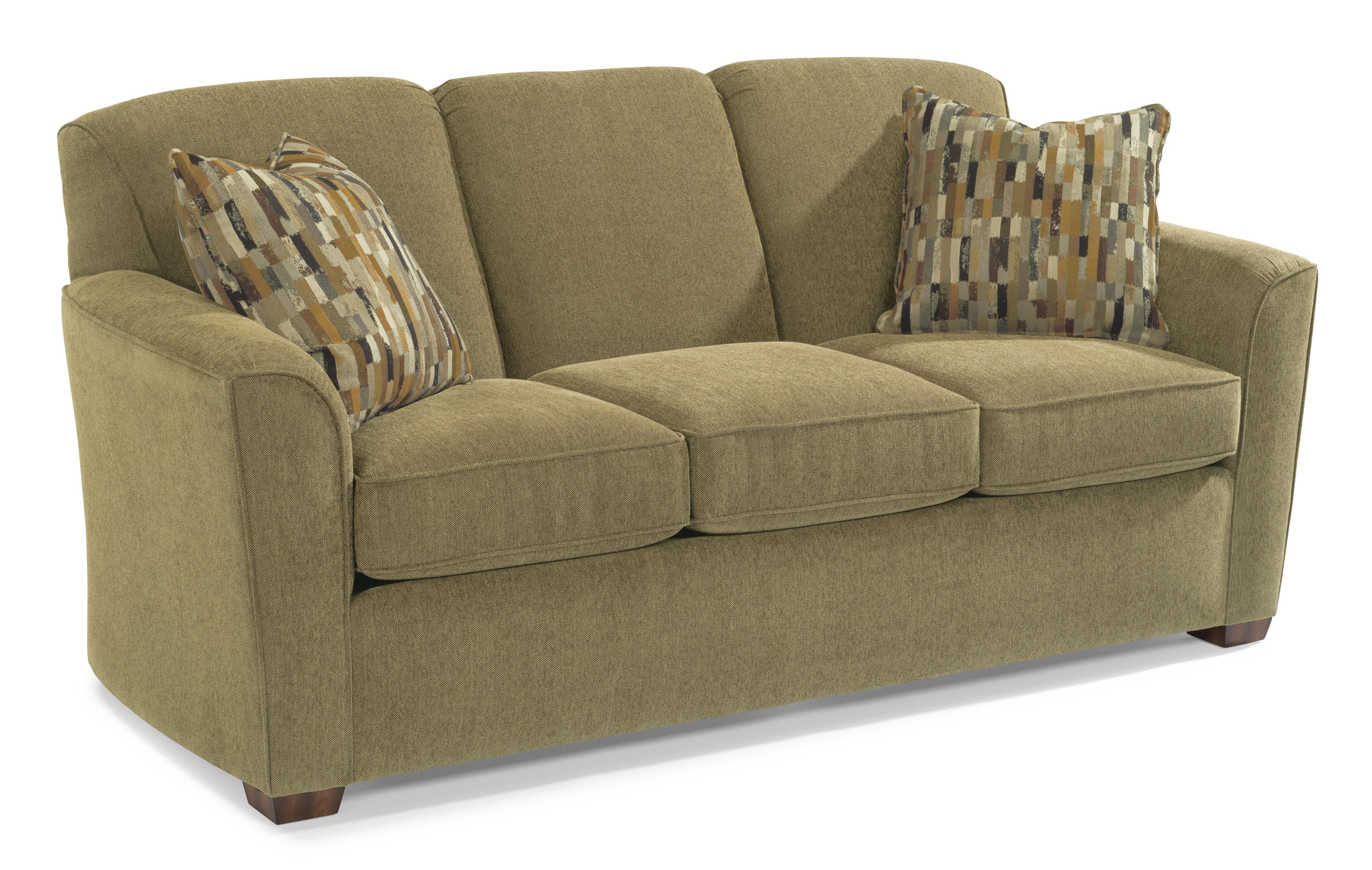 Lakewood Queen Sleeper Sofa By Flexsteel Flexsteel