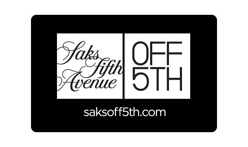 80 gift card coupon at off5th saks fifth avenue shop