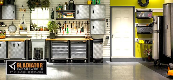 Garage Organization Ideas Gladiator Garageworks Storage Flooring And More At Abt