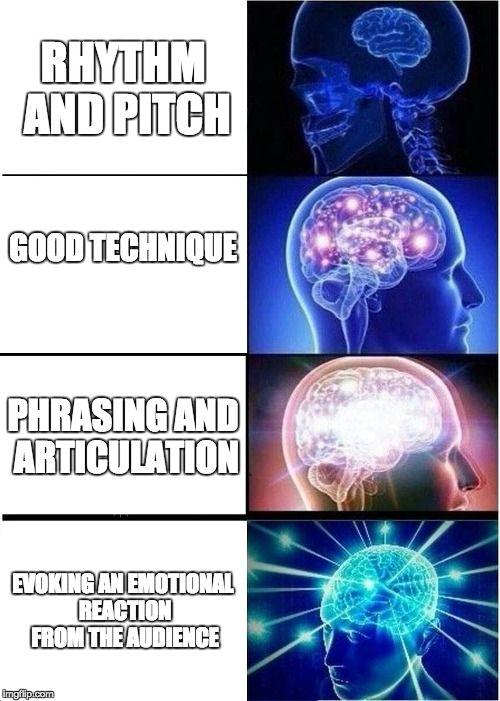 048c67d0633f94d2438e0de21a0117a0 expanding brain meme generator imgflip music education