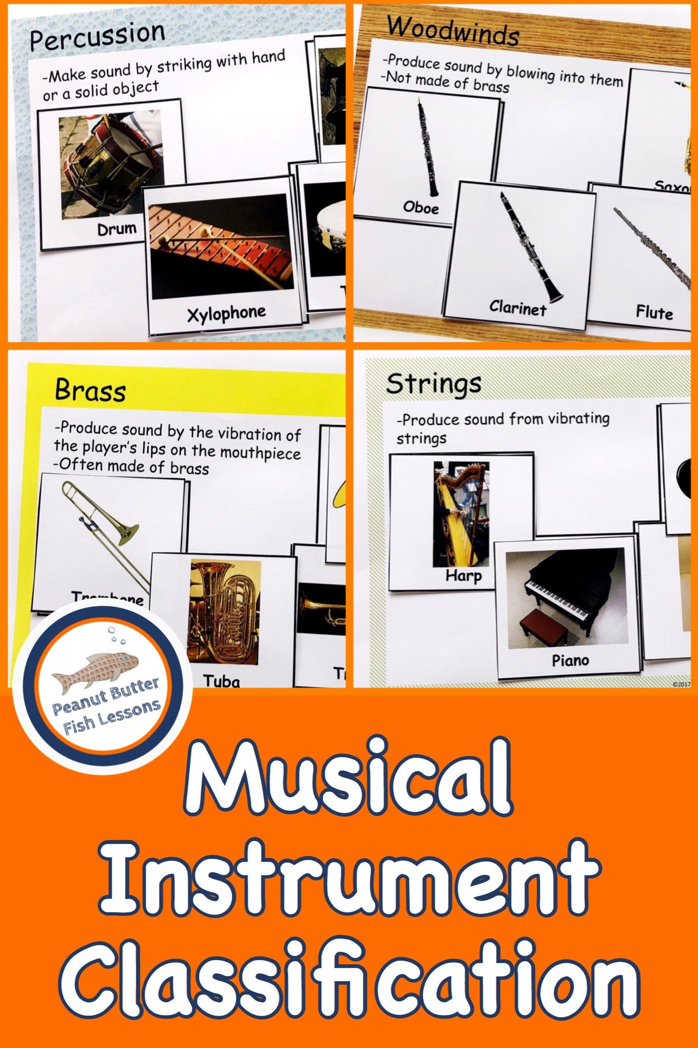 Musical Instrument Classification
