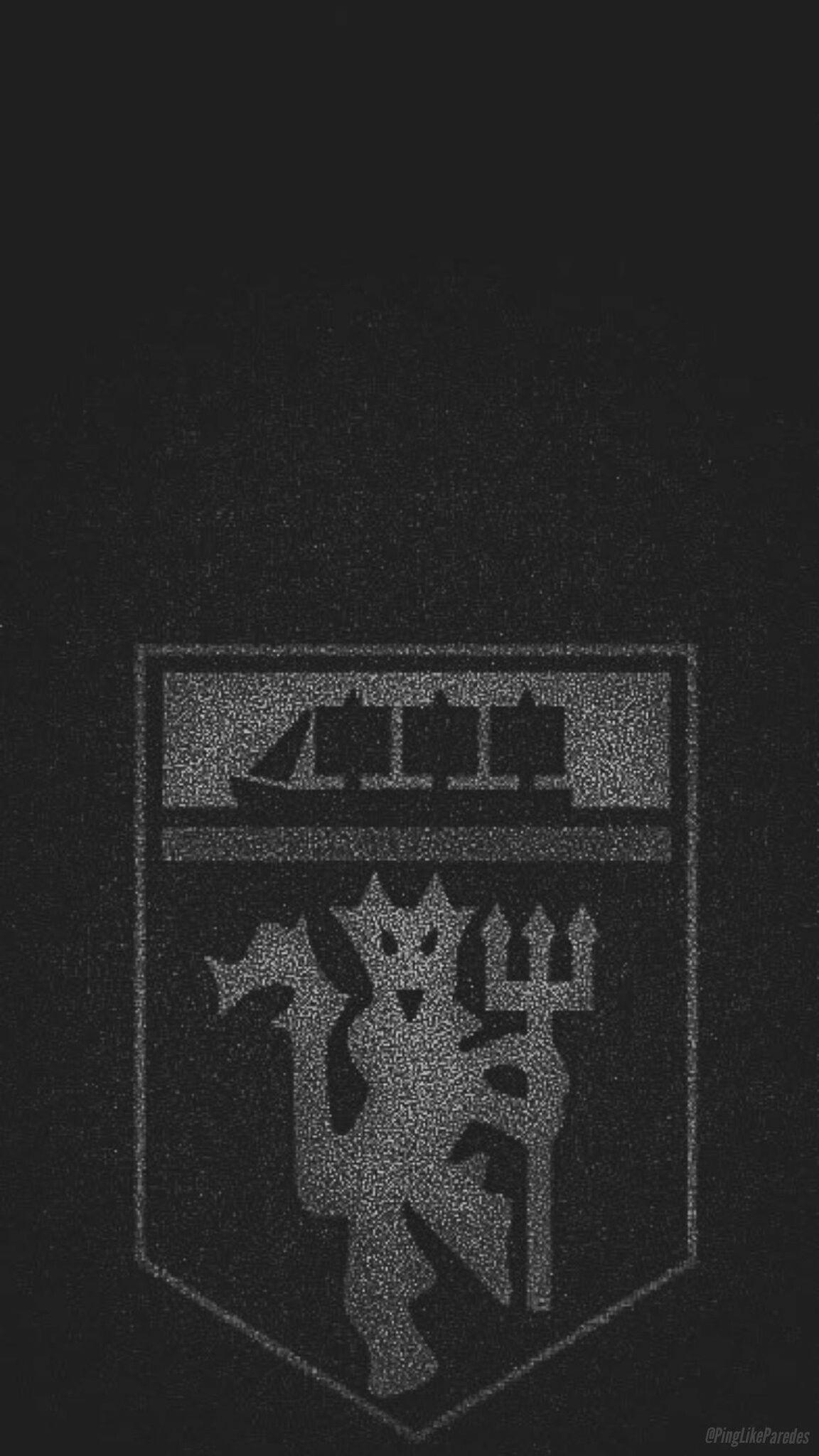 Manchester United Logo Orang Animasi Wallpaper Ponsel Pemandangan Khayalan