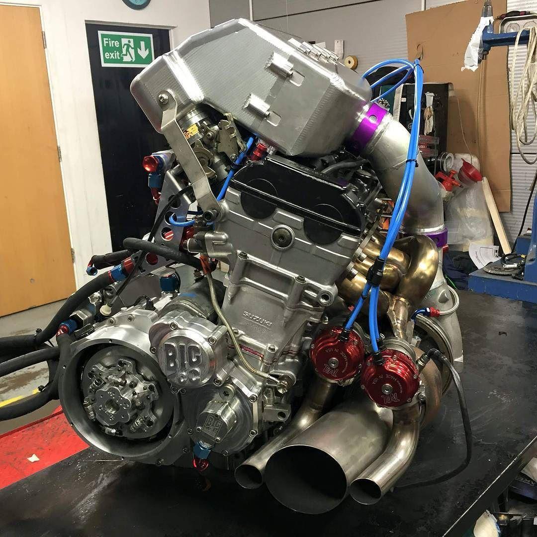 Gsxr 1000 Turbo Grudge Bike