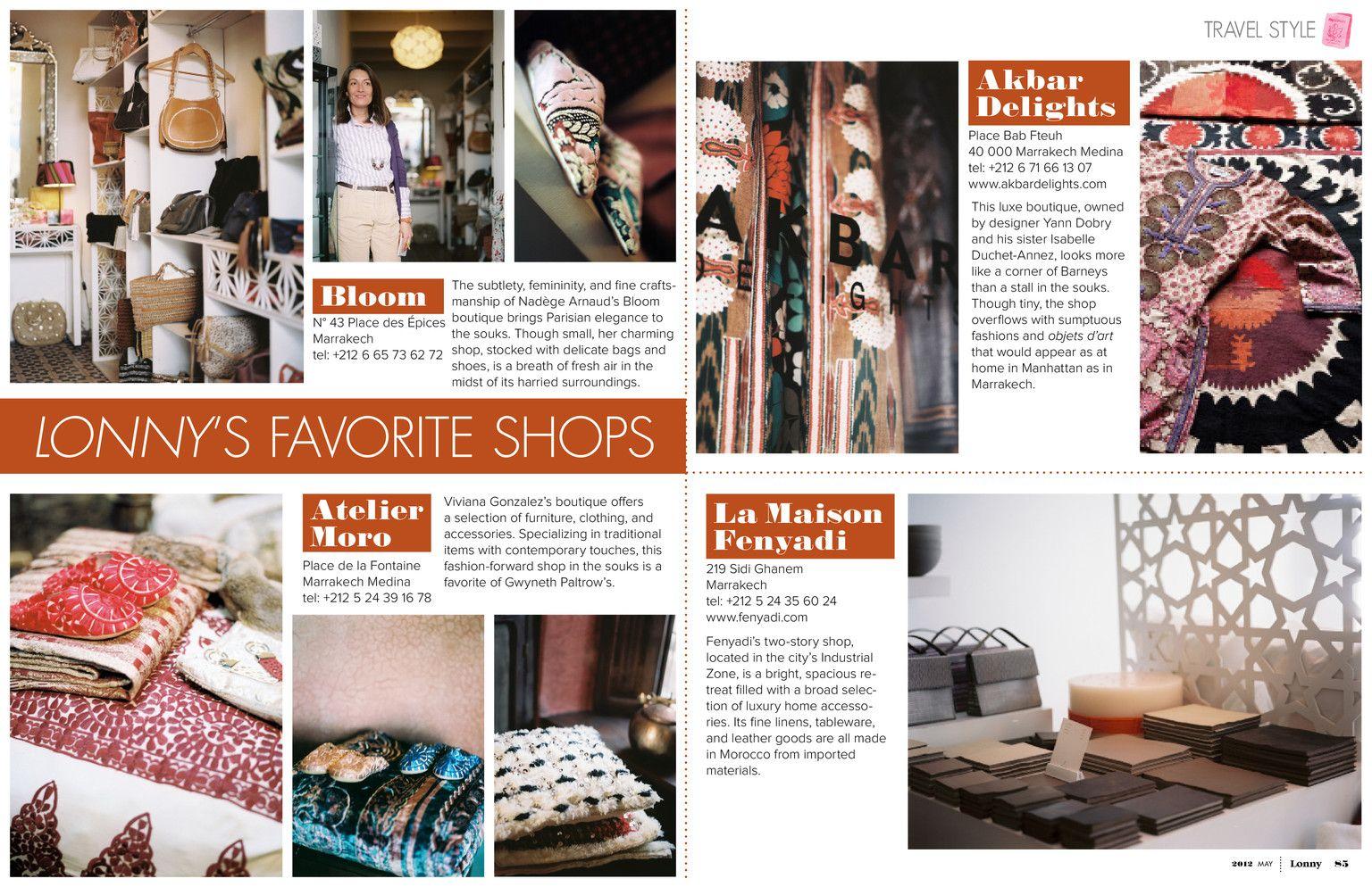 May magazines and marrakesh