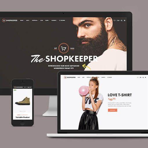 Shopkeeper WordPress -eCommerce Theme - Ubaid academy